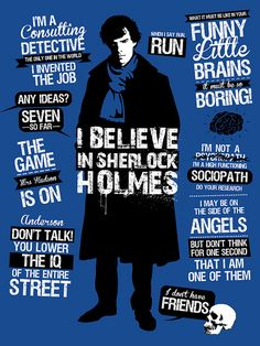 """I may be on the side of the angels, but don't think for one second that I am one of them."" OH MY GOD SHERLOCKIANS AND WHOVIANS THIS IS INSANE!!!!!!!!!!!!!!!!!!!!!!!!!!!!!!!!!!"