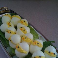 Cute appetizer for Easter!