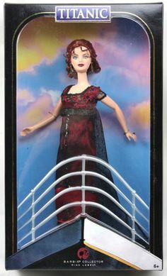 Barbie Kate Winslet as Rose from The Titanic Pink Label Collection 2007 NIB