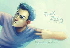 Frank Zhang - i really like this art of him