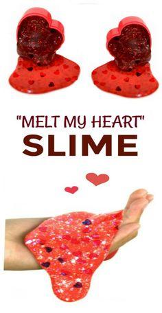 """Valentines Slime for kids """"MELT MY HEART SLIME"""" #slime #slimerecipe ##slimevalentines #valentinesslime #valentinesslimeforkids #slimevalentineideas #valentinesdayslime #slimerecipeeasy"""
