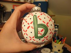DIY Christmas Ornament for BOYS