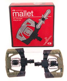 95040 bicycle-parts Crank Brothers Mallet 1 Downhill / MTB Bike Clipless Pedals Green/Black Pair NEW  BUY IT NOW ONLY  $41.97 Crank Brothers Mallet 1 Downhill / MTB Bike Clipless Pedals Green/Black Pair NEW...