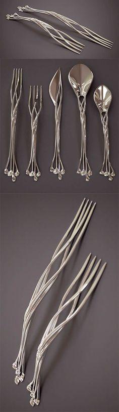 platería 3D creativa. Francis Bitonti Studio.