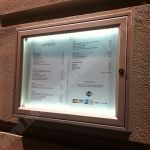 9/A4 £284.00 Illuminated Tradition 30 Wall Mounted | Silver Frame http://www.noticeboardcompany.com/Shop/External-Notice-Boards/Illuminated-External.html