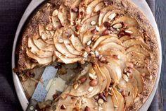 Mandlový koláč s jablky a javorovým sirupem | Apetitonline.cz