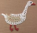 This site has a lot of nice tatting patterns, especially animals patterns.  Now to learn split ring tatting...