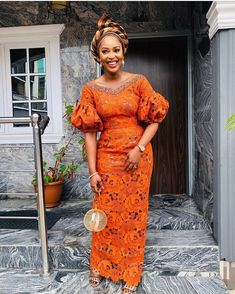 african fashion Get the latest aso ebi and ankara fashion styles from - Gowns, skirts, blouse styles, trouser and ankara tops, long and short styles Nigerian Lace Styles, African Lace Styles, African Lace Dresses, African Fashion Dresses, African Attire, African Wear, African Women, Ankara Fashion, Afro