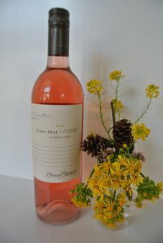 2014 Columbia Valley Syrah Rose ~ love the color of this wine as much as the taste!