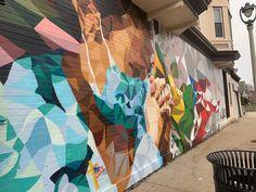 New Mural Honors Healthcare Workers World Humanitarian Day, Cedar Rapids, Medical Science, Murals, Nursing, Health Care, Street Art, Hero, Club