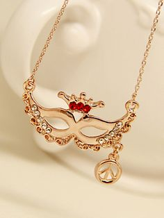 Masquerade Mask Necklace | Choies