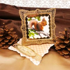 Card made using Woodland Twisted Easel Cards from Autumn Delights by Hunkydory Crafts http://www.hunkydorycrafts.co.uk/acatalog/Pinwheel-Spinners-PCK019.html#SID=317