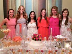 Bridesmaids with Rachel