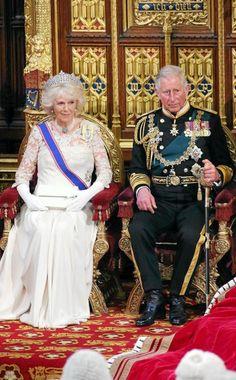 camilla parker bowles | El príncipe Carlos y Camilla Parker Bowles en la apertura del ... did I miss something? Has Charles become king already?!