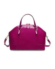 7414e50a64ff V1TCB Gucci Gucci Nice Microguccissima Leather Top-Handle Bag