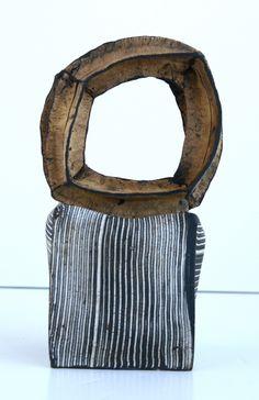Judit Varga, Seed, black semi-porcelain.