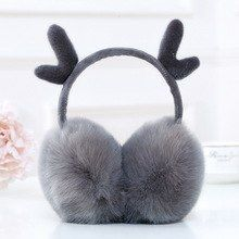 The Sky Of Halloween Night Winter Earmuffs Ear Warmers Faux Fur Foldable Plush Outdoor Gift