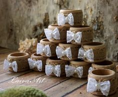 #burlap #wedding #napkin #rings #wedding #table #décor #rustic #wedding #napkin #holders #wooden #napkin #rings - pinned by pin4etsy.com