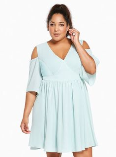 Plus Size Torrid Insider Strappy Lace Skater Dress, CANDLELIGHT ...