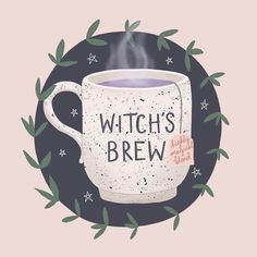 Witch's brew *highly magical blend* by The Glitter Nest Witch Aesthetic, Aesthetic Art, Illustration Art, Illustrations, Psy Art, Modern Witch, Witch Art, Witches Brew, Book Of Shadows