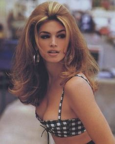 What do people think of Cindy Crawford? See opinions and rankings about Cindy Crawford across various lists and topics. 00s Mode, Beauty Secrets, Beauty Hacks, Beauty Tips, Beauty Products, Actrices Sexy, 90s Hairstyles, Vintage Hairstyles, Celebrity Beauty