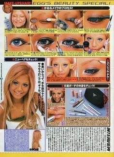 Gyaru Makeup, Hair Makeup, Makati, Round Sunglasses, Make Up, Beauty, Beautiful, Magazine, Paint