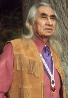 Chief Dan George -Indian Actor, Tribal Chief, author, humanitarian. A native of North Vancouver, British Columbia, Chief Dan George was Chief of the Squamish Band of the Salish Indian Tribe of Burrard Inlet, British Columbia, and a highly respected actor of both American actors and Canadian actors.