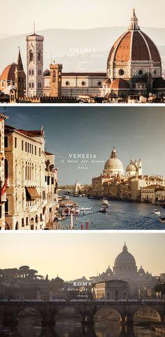 Italia travel advertisement in Travel