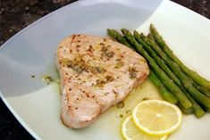 Capers and lemon make a tangy and tasty sauce which complements broiled tuna steaks perfectly. Feel free to cook the tuna on the grill or in a stovetop grill pan. Ahi Tuna Steak Recipe, Tuna Steak Recipes, Tuna Steaks, Sauce Recipes, Fish Recipes, Seafood Recipes, Cooking Recipes, Healthy Recipes, Diabetic Recipes