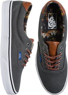 Leather and canvas vans. http://www.swell.com/New-Arrivals-Mens/VANS-ERA-59-CL-SHOE?cs=CH OLD FASHION BRUH THATS WHAT IM TALKING ABOUT !!!