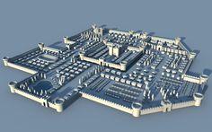 medieval layout castle minecraft deviantart town map