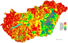 Felekezetenkívűliek 2001 _ 2 No religion Hungary 2001 _ 2
