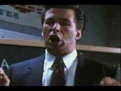 Glengarry Glen Ross speech Alec Baldwin. Real estate agents in movies. #PropertyMinder