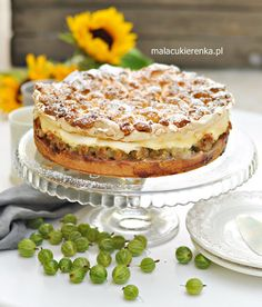 Polish Recipes, Polish Food, Tiramisu, Fruit, Cooking, Ethnic Recipes, Dhal, Drinks, Kitchen