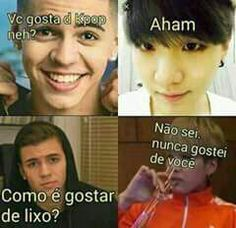 Memes bts portugues 15 Ideas for 2019 Bts Memes, Bts Meme Faces, Bts Suga, Bts Bangtan Boy, Foto Bts, Spongebob, Funny Quotes, Funny Memes, Memes In Real Life