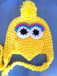 Big Bird Sesame Street Baby-Adult Beanie