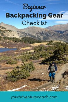 6 tips to plan your first backpacking trip, without overthinking it too much. Just like backpacking can be a mental challenge, so can backpacking planning.