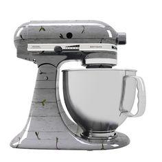 Stand Mixer KitchenAid customizada para o Cook For the Future. | Custom Stand Mixer KitchenAid.