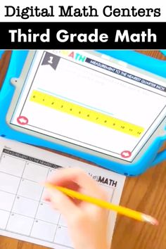 Low prep math centers for third grade students make it easy to assess understanding of targeted math skills! No sign in required, and access with an iPad or Chromebook (or other wifi connected device! Teaching Strategies, Teaching Tips, Learning Resources, 3rd Grade Math, Third Grade, How To Become Smarter, Technology Lessons, Singapore Math, Math Manipulatives