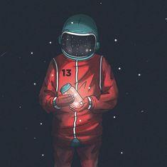Tu me manques Astronaut Drawing, Astronaut Illustration, Space Illustration, Space Drawings, Space Artwork, Space Phone Wallpaper, Galaxy Wallpaper, Astronaut Wallpaper, Graffiti Wallpaper