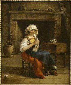 Italienne dans un intérieur Sablet Jacques (1749-1803) (attribué à)Bayonne, musée Bonnat-Helleu