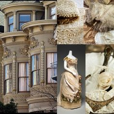 Beautiful Pictures with a English, Victorian, Scottish and Irish twist fashion beige lace.  www.ouwbollig.eu  https://www.facebook.com/ouwbollig.eu