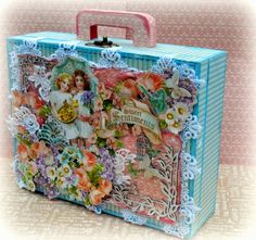 Solange Marques: Shabby Chic Suitcase