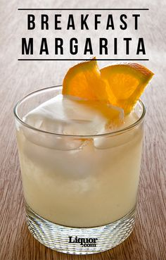 No better way than to start your day with this delicious orange-marmalade Margarita!