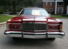 1978 Mercury Marquis Sedan Dark Red | MJC Classic Cars | Pristine Classic Cars For Sale - Locator Service