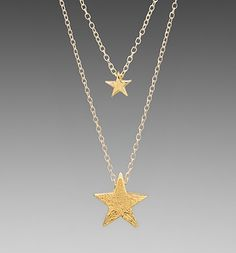 GORJANA Super Star Bead Layer Necklace from Picsity.com