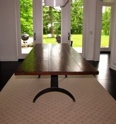 New Dinning Inspiration   Rustic Meets Modern! | For The Home | Pinterest |  Custom Furniture, Inspiration And Modern