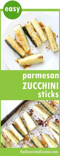 the BEST easy baked Parmesan zucchini sticks! Minutes to make. Delicious side dish or snack idea. Best Vegetable Recipes, Vegetable Side Dishes, Side Dishes Easy, Side Dish Recipes, Low Carb Recipes, Cooking Recipes, Dinner Recipes, Zucchini Sticks, Zucchini Crisps