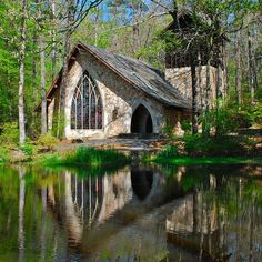 The Chapel at Callaway Gardens in Macon, Georgia by StephenReed, via Flickr