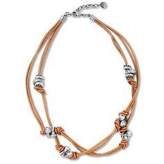 #swarovskicrystals #leathernecklace Rock Necklace, Leather Necklace, Leather Jewelry, Glam Rock, Swarovski Crystals, Fashion Jewelry, Jewelry Design, Teal, Bangles